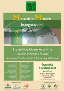 Inaugurato il Museo delle Memorie a Piale Villa Sangiovanni