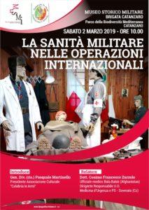 """A Catanzaro una conferenza sul tema """"La Sanità Militare nelle operazioni internazionali"""""""