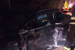 Violento scontro tra due auto, feriti