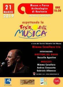 """Monasterace – Aspettando la Festa della musica con """"Mimmo Cavallaro trio"""""""