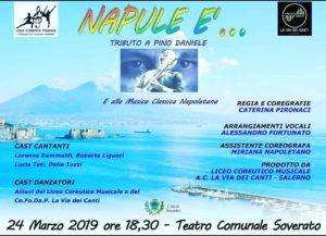 """Tutto pronto per """"Napule è"""". Domenica 24 Marzo a Soverato"""
