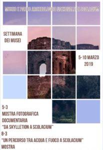 Settimana dei Musei – Iniziative del Museo e Parco Archeologico Nazionale di Scolacium