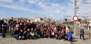 """Delegazione dello staff Erasmus+ del """"Malafarina"""" di Soverato in Portogallo"""