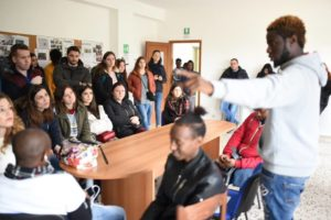 "Tappa a Badolato del progetto Erasmus+ ""Training Course – Education against Discrimination"""