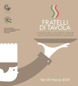 Lo chef Michele Rizzo promuove Fratelli di Tavola con un Menù Tricolore