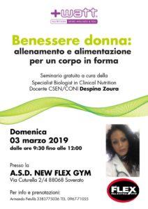 Soverato, il benessere è donna: seminario gratuito con Despina Zoura