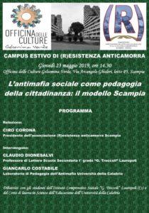 Unical, 80 studenti medi e universitari a Scampia per discutere di antimafia sociale