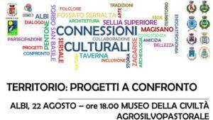 """Albi – Giovedì 22 Agosto """"Connessioni. Territorio: progetti a confronto"""""""