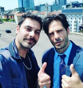 """Walter Cordopatri con Marco Bocci, il cinema d'azione """"Calibro 9"""" sarà solo un successo"""