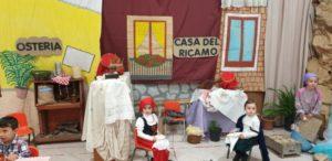 Inaugurazione Presepe vivente nella Scuola dell'Infanzia dell'I.C. Catanzaro Nord Est Manzoni