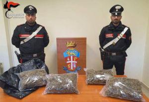 Pizzicato in auto con oltre 2 chili di marijuana, 35enne arrestato