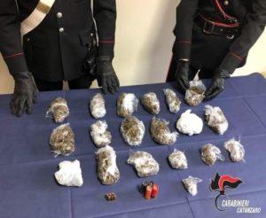 Amaroni – Arrestato 79enne di Montepaone per detenzione e spaccio di sostanze stupefacenti