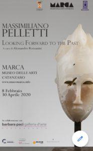 Sabato 8 febbraio, al Museo Marca di Catanzaro, l'inaugurazione della mostra di Massimiliano Pelletti