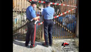 Sequestro di un'area del deposito comunale, dichiarazione del sindaco di Borgia