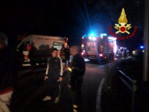 S. Andrea Jonio – 65enne scivola in un dirupo in prossimità del Fiume Alaca, soccorso dai vigili del fuoco