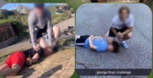 «George Floyd Challenge», l'ignobile sfida sul web che simula la morte dell'afroamericano di Minneapolis