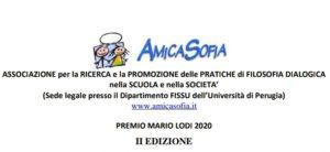 Primo Premio speciale Mario Lodi 2020 a Giusy Froio di Soverato