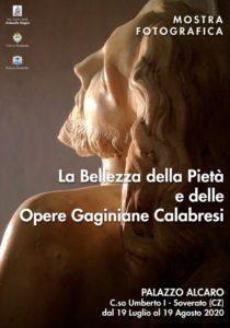 """A Soverato la mostra fotografica """"La bellezza della Pietà e delle Opere Gaginiane Calabresi"""""""