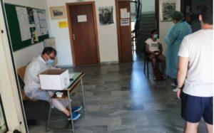 Coronavirus, tamponi in municipio a Vallefiorita anche per i giovani di Amaroni