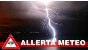 Maltempo, pesante avviso della Protezione civile per la Calabria Jonica. È Allerta Rossa!