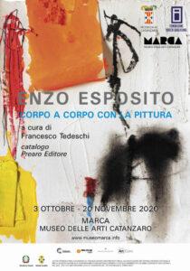 Sabato 3 ottobre a Catanzaro l'inaugurazione della mostra di Enzo Esposito