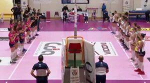 Il Volley Soverato cede per tre a zero contro Talmassons