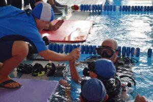 A Badolato il primo corso per istruttori e guide subacquee specializzate in disabilità