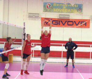 Ripresi gli allenamenti del Volley Soverato in vista del primo di tre recuperi