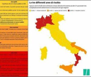 Dpcm, 6 regioni col fiato sospeso: da gialle potrebbero diventare arancioni