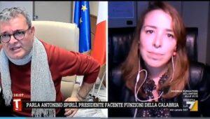 """Sanità in Calabria, Spirlì: """"Non abbiamo bisogno di Gino Strada, dobbiamo scavare pozzi?"""""""