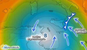 Allerta Meteo, in arrivo piogge alluvionali sulla fascia jonica calabrese