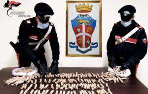 Detenevano in auto 200 candelotti pirotecnici artigianali, due giovani denunciati