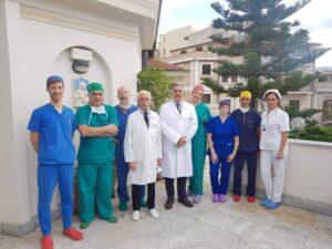 Alta tecnologia chirurgica in Calabria
