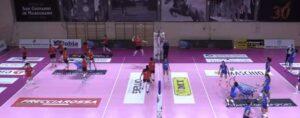 Il Volley Soverato cede in quattro set alla Omag Marignano
