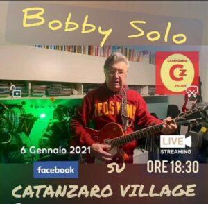 Bobby Solo al Digital Show su Catanzaro Village