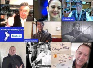 Forti emozioni con Bobby Solo su Catanzaro Village online