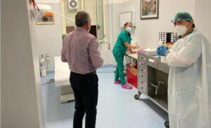 Prosegue la campagna vaccini anti Covid all'ospedale di Soverato