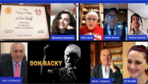 "Don Backy su Catanzaro Village, un tandem di ""emozioni"" in live streaming"