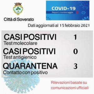 Coronavirus, il bollettino odierno del comune di Soverato