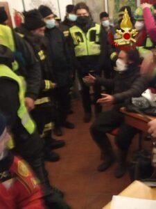 Giovane di 27 anni si perde nel comune di Taverna, ritrovato dai Vigili del fuoco