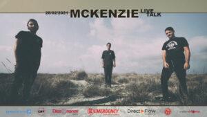 Musica, McKenzie Live & Talk: concerto dal vivo & talk in diretta per Emergency