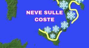 Maltempo: In arrivo gelo, neve a bassa quota, piogge e venti forti in Calabria