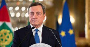 """Mario Draghi: """"Ci saranno riaperture dal 26 aprile, ci prendiamo un rischio ragionato"""""""