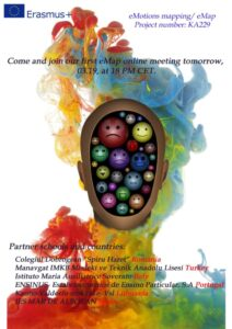 """Progetto Erasmus Plus """"eMotions Mapping"""" a Soverato"""