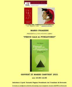 """Soverato – In diretta streaming la presentazione del libro """"Freud sale in Purgatorio"""""""