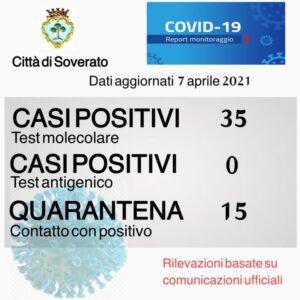 Coronavirus, il bollettino di oggi del comune di Soverato