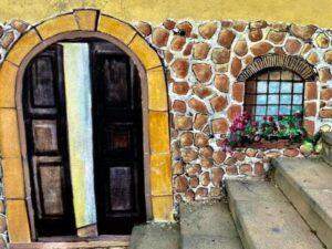 Squillace, i murales di Franco Lioi