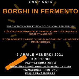 "Al via i webinar ""Swap Cafè"" dell'iniziativa Swap-Poliborgo"