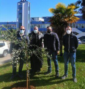 Nono Giardino della Memoria realizzato in collaborazione con l'ASP di Catanzaro ed il coordinamento sanità 19 Marzo