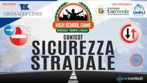 """High School Game: un quiz """"salvavita"""" per educare i giovani alla sicurezza stradale"""